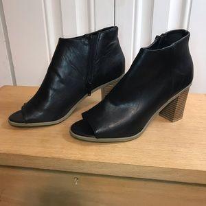 Report Pamela Peep Toe Bootie Size 8
